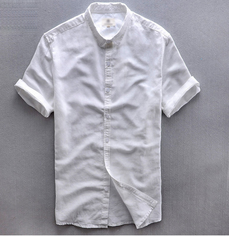 Solid Color Short Sleeve Button Down Shirts | Is Shirt