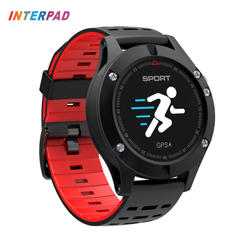 2018 New Interpad I-F5 Professional Sport Watch Bluetooth Smart Watch Android iOS Phone Clock Smartwatch Heart Rate Tracker no 1 d5 bluetooth smart watch phone android 4 4 smartwatch waterproof heart rate mtk6572 1 3 inch gps 4g 512m wristwatch for ios