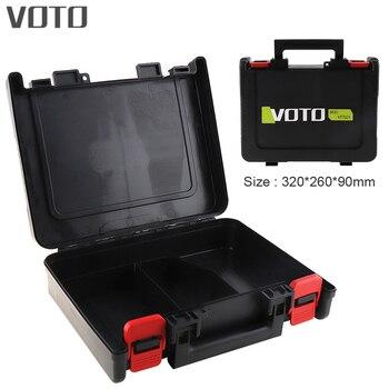 Maleta de herramientas VOTO, caja Universal de herramientas de 12V 16,8 V 21V, caja de almacenamiento con longitud de 320mm para destornillador eléctrico de taladro de litio