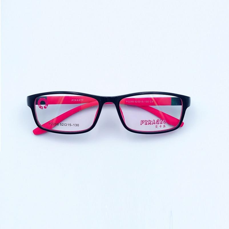 52 15 130 New children eyeglasses frame high grade tr90 soft silicone frame juvenile myopia frame 2258 kids optical glasses in Men 39 s Eyewear Frames from Apparel Accessories