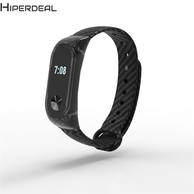 HIPERDEAL Fashion Clear TPE Wristband Sport Style Strap Bracelet For Xiaomi Mi Band 2 GN Professional Factory Price Sep15