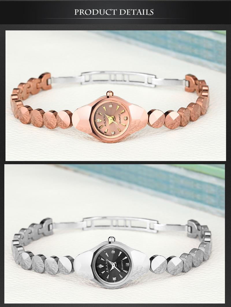Relógios Real Tungsten Aço Rose Gold Relógio