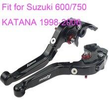 KODASKIN Left and Right Folding Extendable Brake Clutch Levers for Suzuki gsx600 gsx750 KATANA 1998-2006