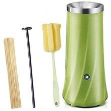 Автоматическая многофункциональная машина для приготовления яиц с одной трубкой, Электрический яичный котел, омлет, машина для колбасы, инструмент для завтрака, яиц, США
