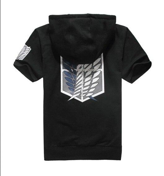 Unicorn Tấn Công Titan t áo người lớn quần áo cotton t-shirt với áo anime cosplay quần áo bé trai mùa hè áo thun áo & tees