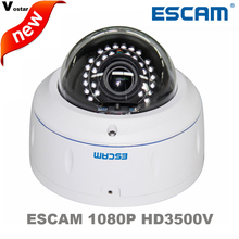 Escam HD3500V 1080P 2.8-12mm support POE/Onvif Wireless Outdoor IP camera IP66 Waterproof Vandal-Proof IR network Dome Camera