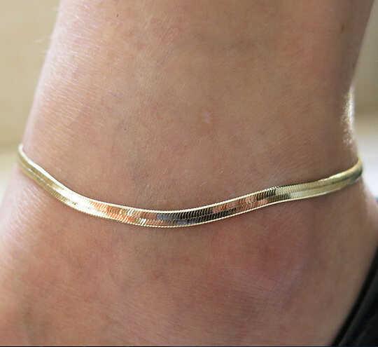 Yaz tarzı Moda womenAnklets ayak bileği bilezik ayak takısı zincir altın gümüş ayak bileği bacak takılar yalınayak sandalet bilezikler