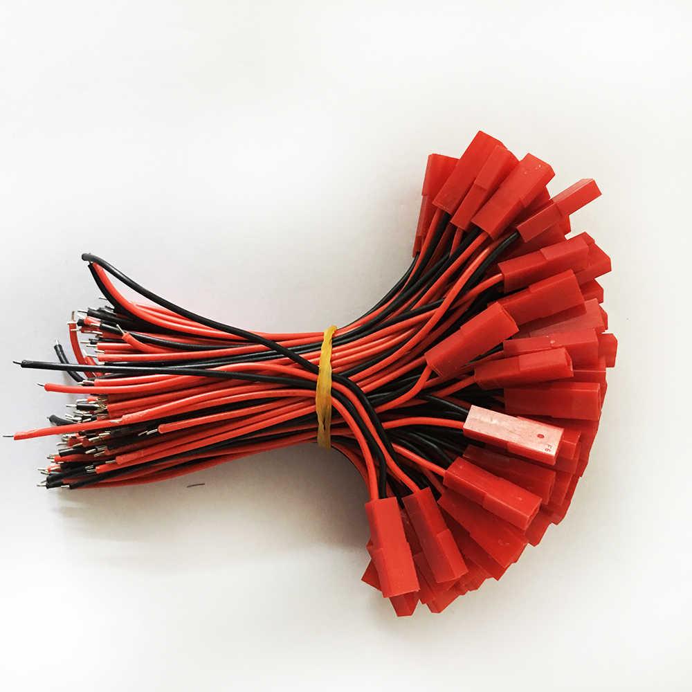 Акция 10 пар 10 см длинные JST SM 2 штыря штекер к гнезду провода разъем
