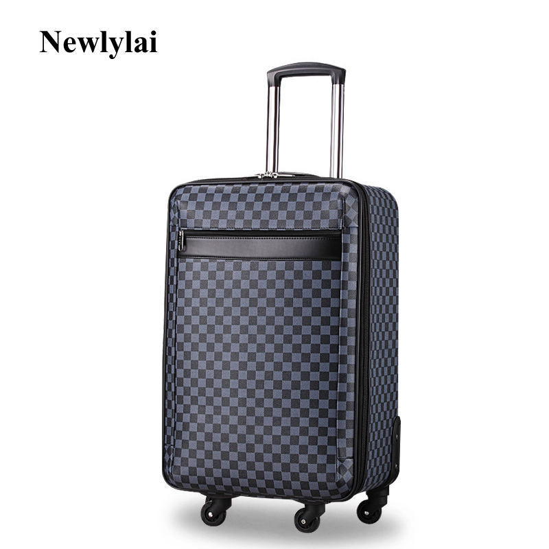 Oxford cloth rolling suitcase 20/24/28 inch wheels password check-in luggage Zipper travel bags JJ170091