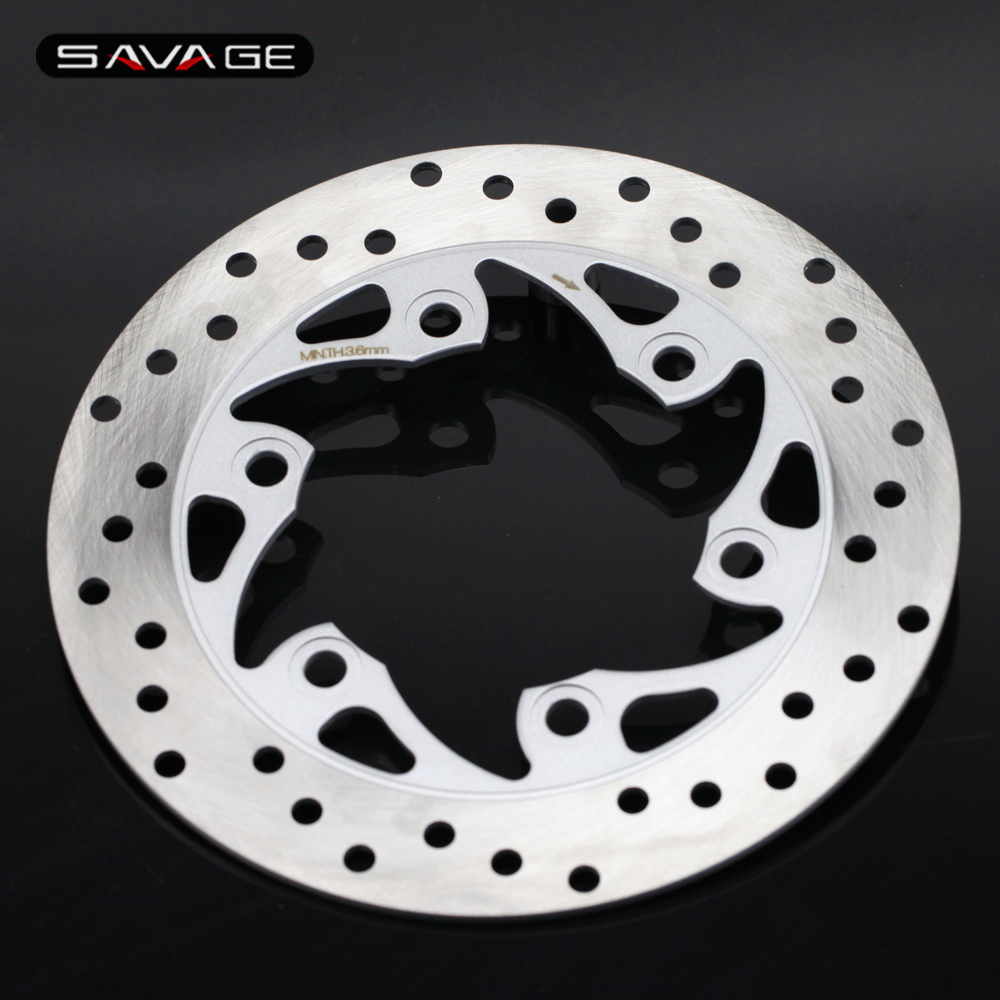 For SYM HD EVO 125 200 200i EURO, GTS 250 Rear Wheel Brake Disc Rotor 230mm stainless steel Motorcycle Accessories for ktm 390 200 125 duke 2012 2015 2013 2014 motorcycle accessories rear wheel brake disc rotor 230mm stainless steel