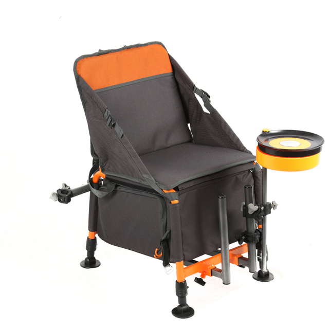 Fishing Chair Legs Nursery Chairs Uk 82809multifunctional Foldable Lightweight Aluminium Alloy With Adjustable And Backrest Stool Bag