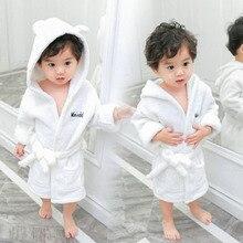 Для новорожденных спа с капюшоном махровый пляжный купальный халат для дома банный халат теплое полотенце банный халат из хлопка для малышей для маленьких мальчиков и девочек