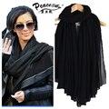 2015 Новая Мода Женщины Хлопок Шарфы Мягкие Дамы Шарф Шали Женщин Обертывания Бесплатная Доставка пашмины хиджаб шарф мусульманские для женщин
