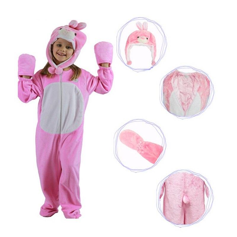 be892a9268f9f الأرنب حلي تأثيري للأطفال هالوين ازياء الملابس للأطفال اطفال بنات بنين