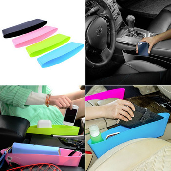 2020 Hot Sale New 1pc Catch Catcher Storage Organizer Box Car Seat Gap Slit Pocket Holder Tidying Bag Saving Space image