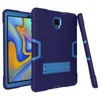 Детский противоударный Гибридный Силиконовый чехол для Samsung Galaxy Tab A 10,5 T590 T595 T597 защитный чехол Tab A 10,5 дюймов Чехол + пленка + ручка