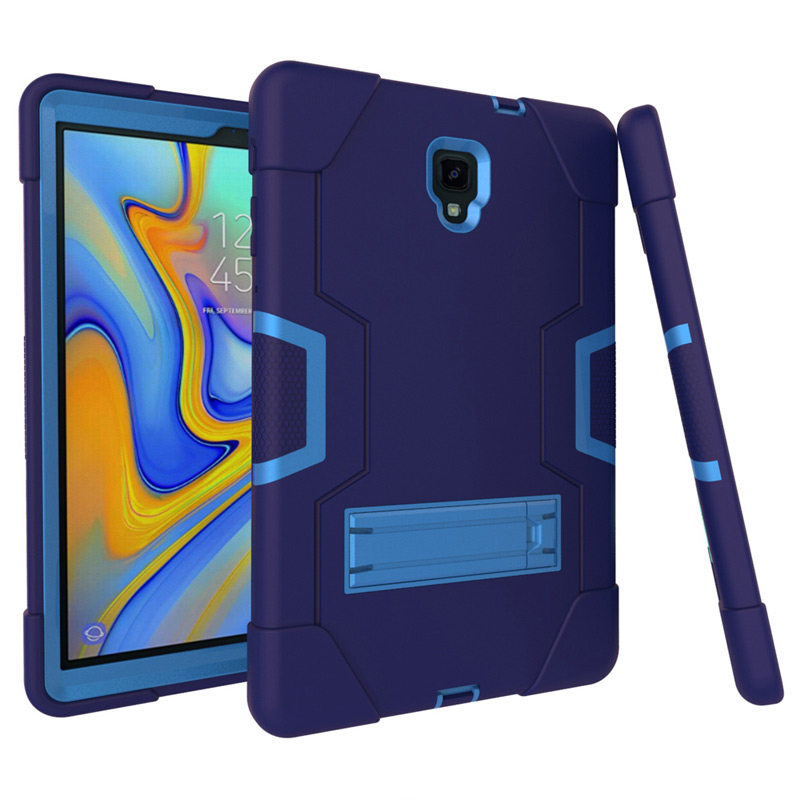 Kids Shockproof Hybrid Silicone Case For Samsung Galaxy Tab A 10.5 T590 T595 T597 Protective Cover Tab A 10.5 Inch Case+Film+Pen