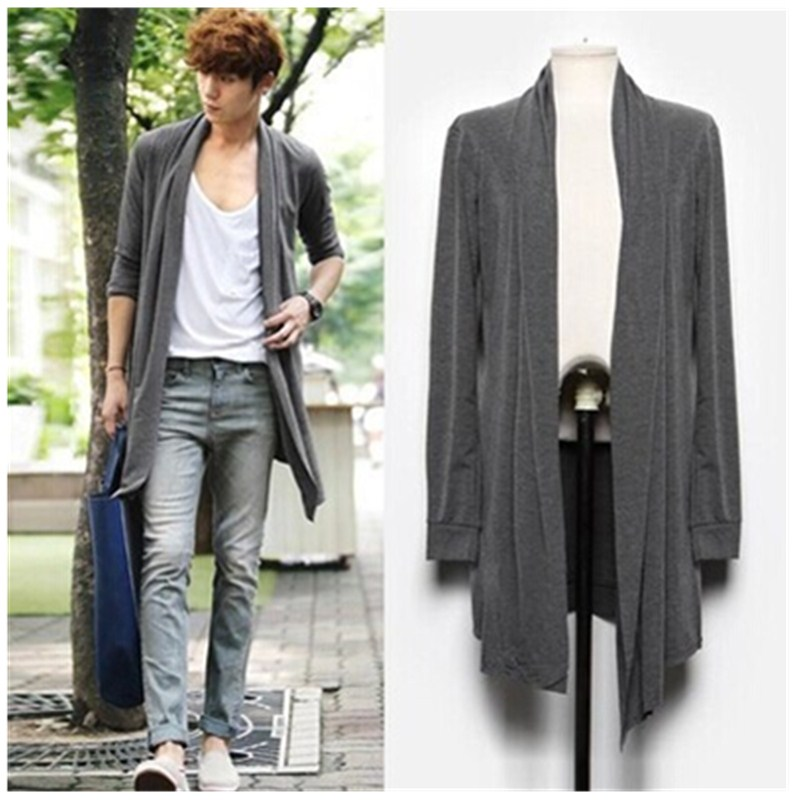 Korean Fashion Men Trench Coat Reviews - Online Shopping Korean ...