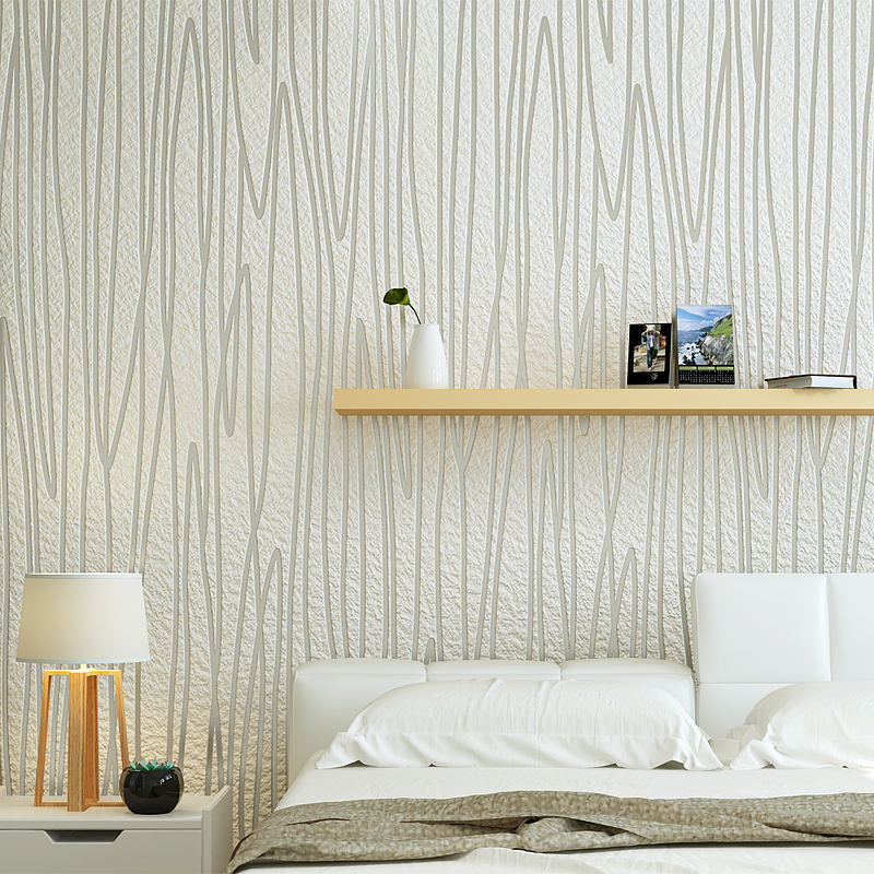 Top Quality Wave Stripe relievo Tuxure Bedroom Wallpaper for Wall 3d Room Wall paper 3d Papel de Parede wall panels Wallcovering wallpaper modern anchos travelling boat modern textured wallcoverings vintage kids room wall paper papel de parede 53x1000cm
