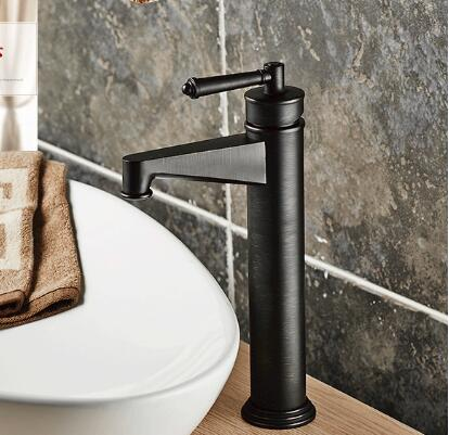 New arrival Europe style high quality sink faucet brass black ORB basin mixer single lever basin faucet bathroom water tap free shipping new design high quality brass material single lever basin faucet