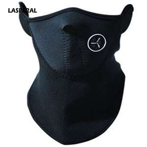 LASPERAL Half-Face-Cold-Protection Collars-Accessories Cycling Warm-Collars Skiing Women Winter