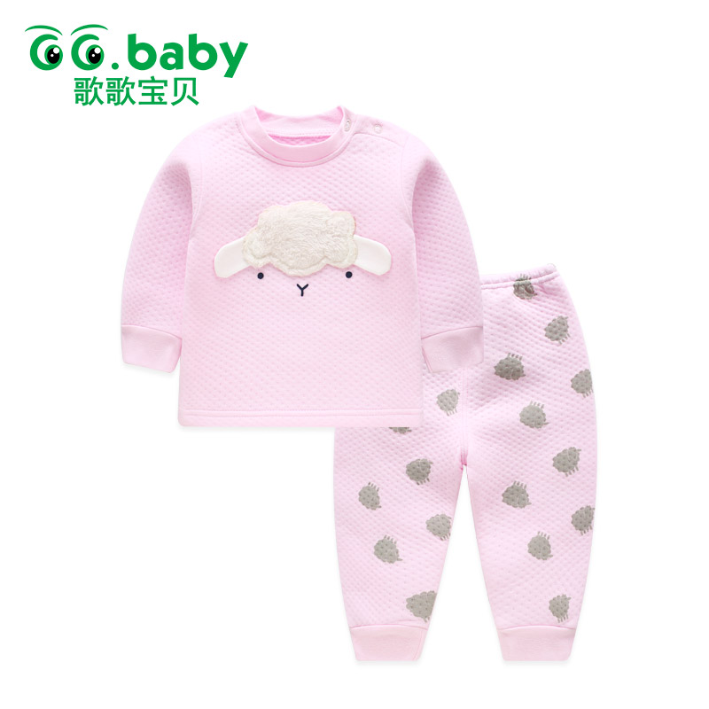 2pcs Baby Set Cotton Winter Baby Clothing Set Outfits Bebes Suits Warm Tops Pants Infant Newborn Baby Boy Clothes Winter Sets baby boys girls clothes set autumn winter warm outfits deer tops hoodie tops pants cute animals kids baby boy clothing sets