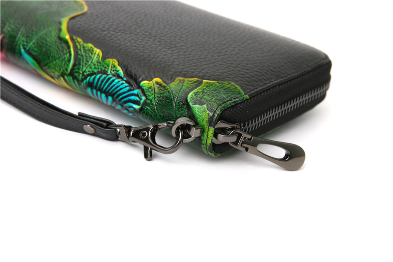 genuine leather wallet female (9)