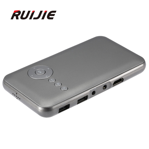 M6 DLP 3D LED Projector Portable Wifi Project DLNA Android OS 1GB RAM 8GB ROM built in 4200mAh Battery Speaker Android TV Box