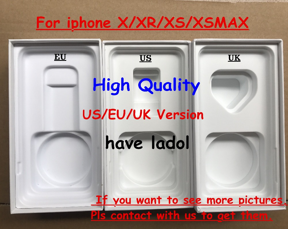 DHL 20pcs lot High Quality US EU UK Version Phone Packaging Packing Box Case For XS