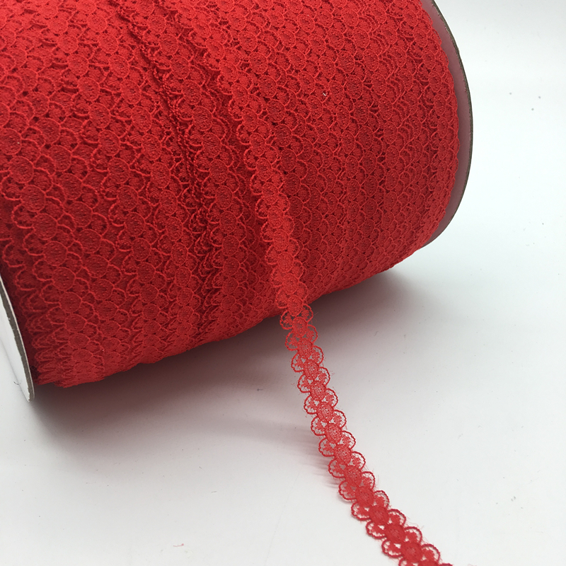 Лента Двусторонняя кружевная с вышивкой ручной работы, 10 ярдов/партия, 5/8 дюйма (15 мм)