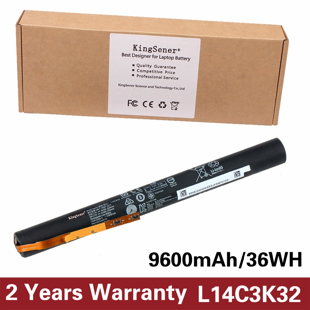 3.75 V 9600 mAh KingSener Nouveau L14C3K32 Batterie pour Lenovo YOGA Tablet 2 Pro-1380F 1380 YT2-1380 YT2-1380F Yoga 11-TTH L14D3K32