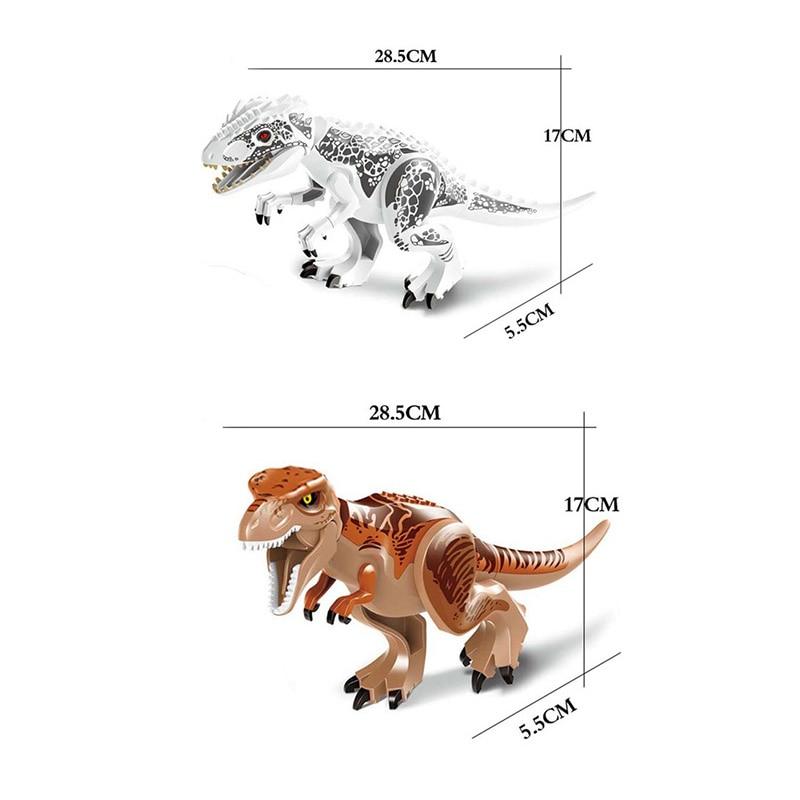 1PC Dinosaur World Fallen Kingdom T-Rex Dinosaur Indominus Tyrannosaur Kids Gift