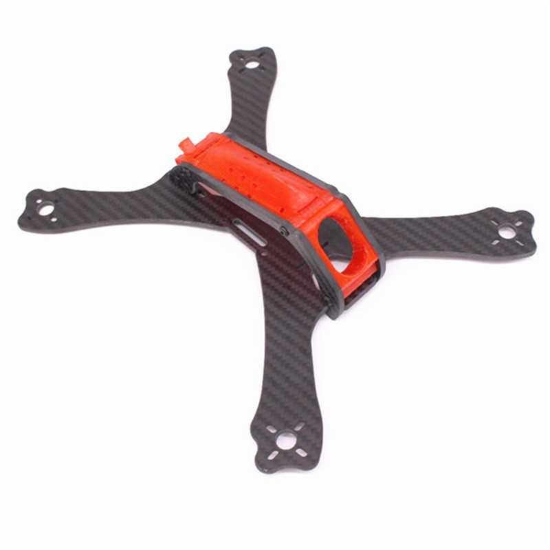 PUDA C240 Frame Kit 240mm 3.5mm Arm 3K Carbon Fiber Stretch-X with 3D Printing Camera Mount For DIY Multirotor Racing Quad Parts