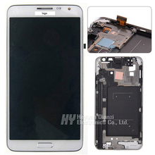 100% Original New for Samsung Galaxy Note 3 NEO N7505 LCD display touch screen Digitizer with frame freeshipping