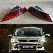 2Pcs/Pair RH and LH Rear fog light lamp tail light reflector lamp for Ford Kuga Escape 2013-2016
