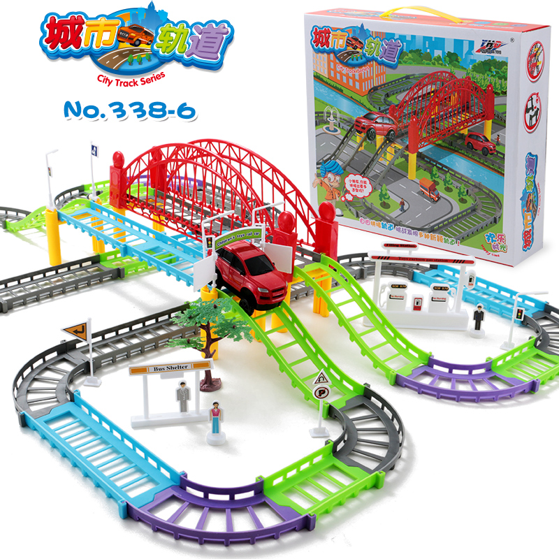 new arrival 3 types childrens toy thomas small train head set electric train track car racing