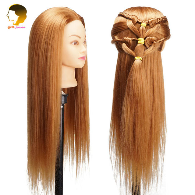 Hair Mannequin Heads For Practice Head Barber Hairdresser Professional Styling