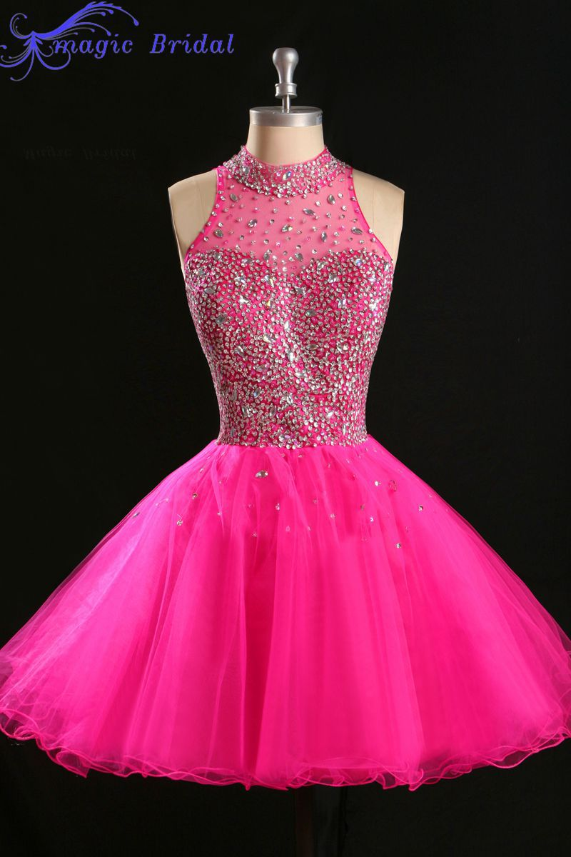 Popular Hot Pink Prom Dress-Buy Cheap Hot Pink Prom Dress lots ...