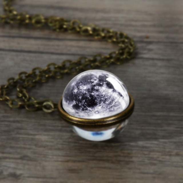 Planet Glass Necklace