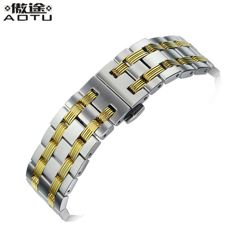 Stainless Steel Watchbands For Tissot T065 430A Seastar Series Men Watch Strap Metal Watch Belt Bracelet Watch Band 19mm Straps hercules 5297