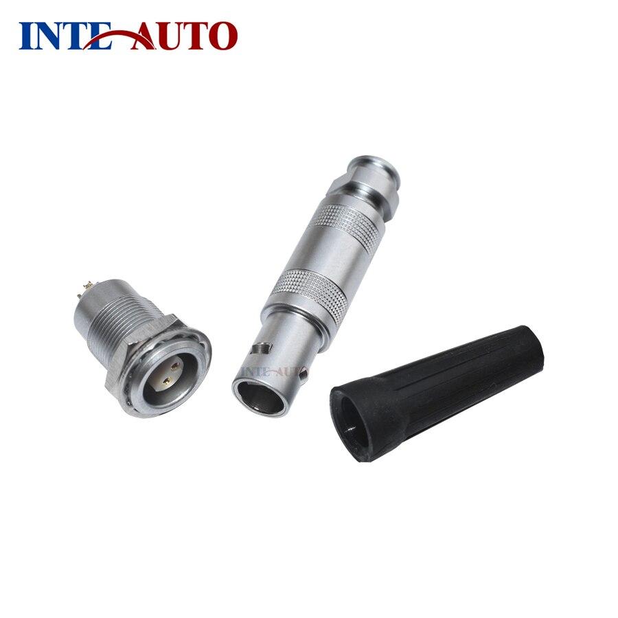 Compatible with Lemo M9 4 Pins male female connector for audio video FFA.0S.304 ERA.0S.304 Half-moon insulator