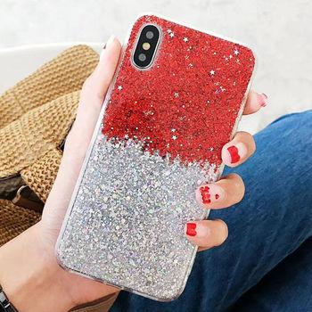 Glitter Star iPhone Xs Case