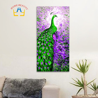 40 80 Large Oil Painting By Numbers Diy Calligraphy Painting Coloring By Number Canvas Picture For