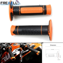FREAXLL 22mm grips for motorcycle 7/8universal protaper handlebars handle For 690 SMC Enduro Duke 990 Adventure