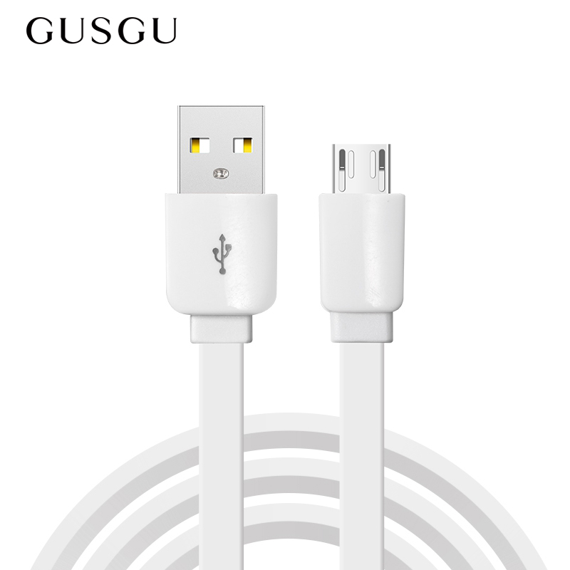 GUSGU Micro USB Cable 2A Fast Charge USB Data Cable for Samsung Xiaomi Tablet Android