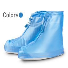 Waterproof Overshoes Rain Anti-slip Waterproof Dustproof Shoes Cover Breathable Shoes Cover for Woman Flat Shoes Women Reusable