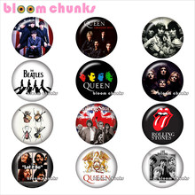 music guitar Round photo glass cabochon demo flat back Making findings 12mm/18mm/20mm/25mm TL1098(China)