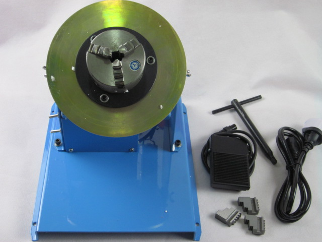 New 2-10RPM 10KG Light Duty Welding Turntable Positioner with 65mm Chuck  Y