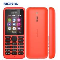 Brand New Original Nokia 130 Dual SIM Mobile Phone 1.8 inch 4 MB RAM 1020 mAh FM Radio Micro SD Dual SIM Nokia Cell Phone