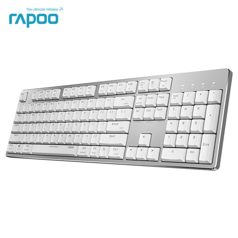 New Rapoo MT700 Rechargeable Multi Model Backlit Office Mechanical Keyboard for Windows and Mac OS Dual